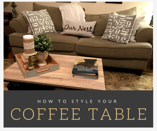 how to style coffee table