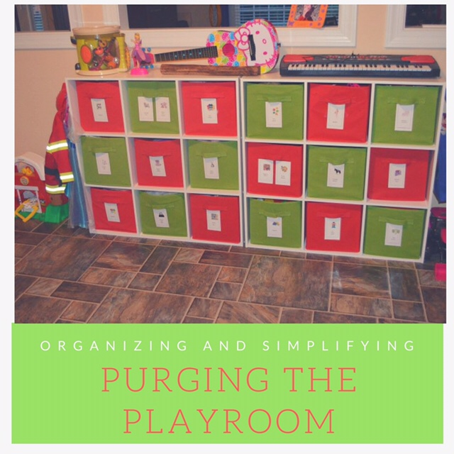 How to successfully purge your playroom