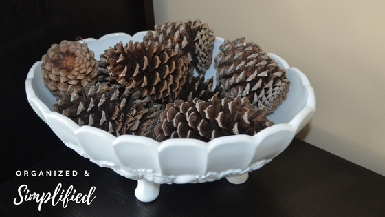 winter ht- pinecones