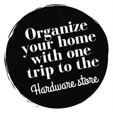 Organize your home with one trip to the