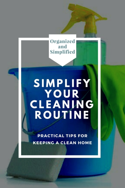 Simplify your cleaning
