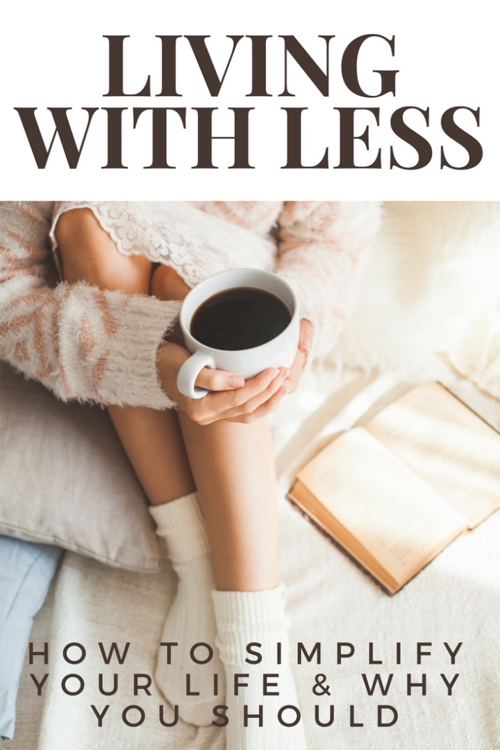 Simplify Saturday: How to live withless