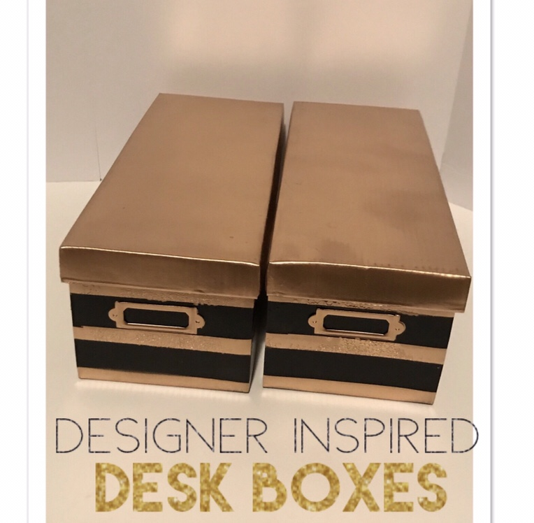 I Have Loved The Kate Spade Office Line Since It Came Out, And I Especially  Loved These Cute Storage Boxes.