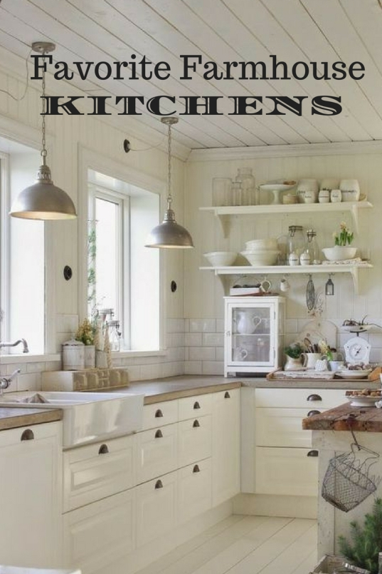 favorite farmhouse kitchen