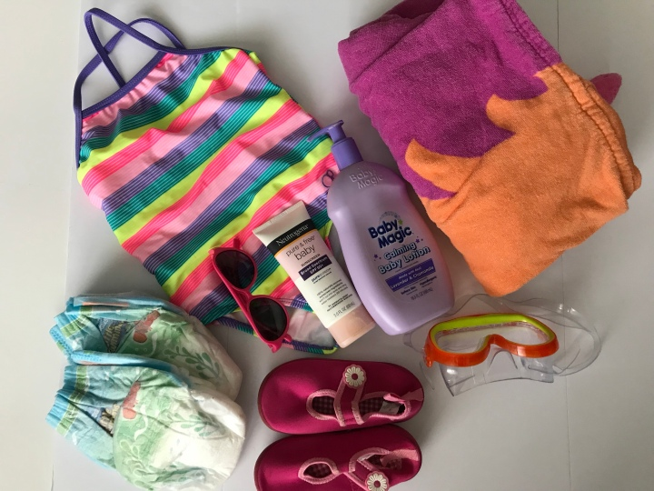 What to pack in your toddler's pool bag