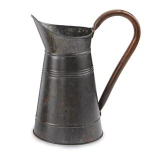 farmhouse-galvanized-decorative-pitcher