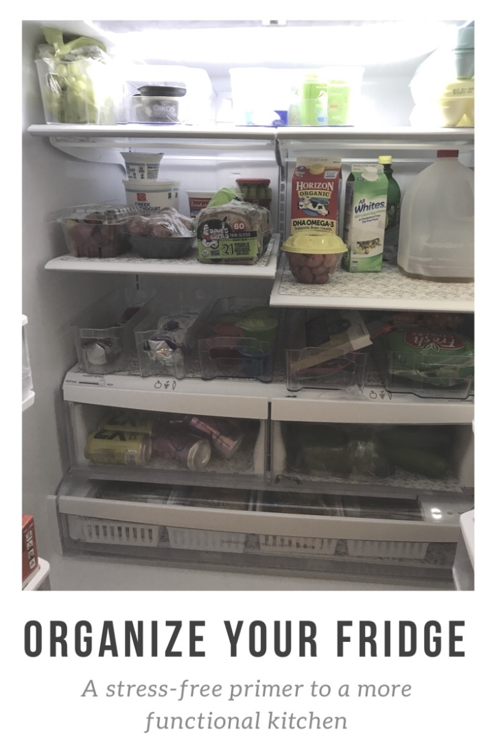 Organize your fridge: a stress-free approach to simplifying yourkitchen