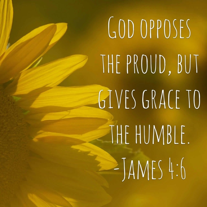 Scripture Sunday: James 4:6