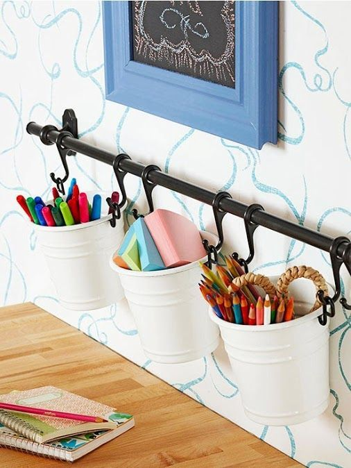 hanging pen storage