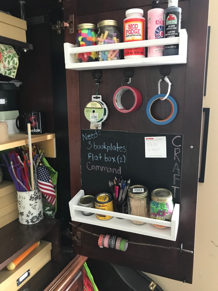 Craft Supply Storage Organized And Simplified