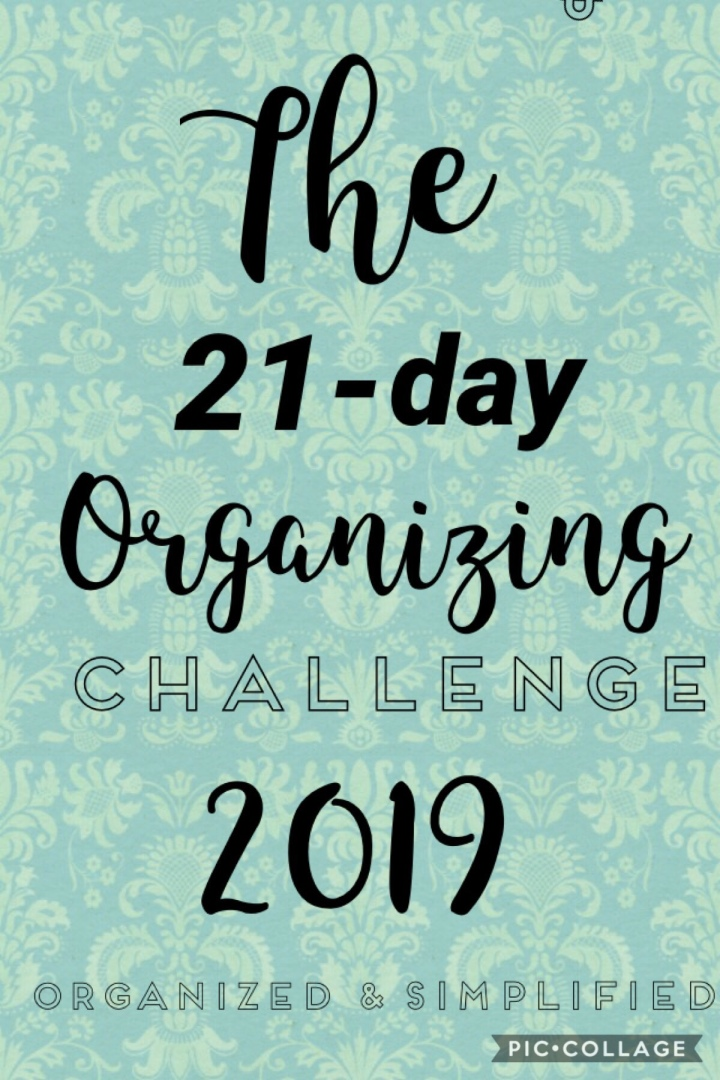 21-day challenge: entry way organization
