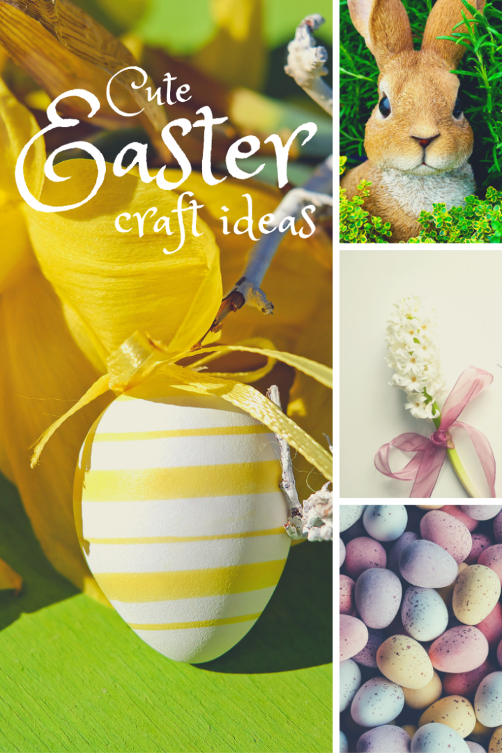 Make it Monday: 4 Adorable and Easy Easter Crafts to Make RIGHT NOW!
